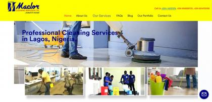 Maclor Cleaning Services Ltd - Full service cleaning company in Lagos Nigeria